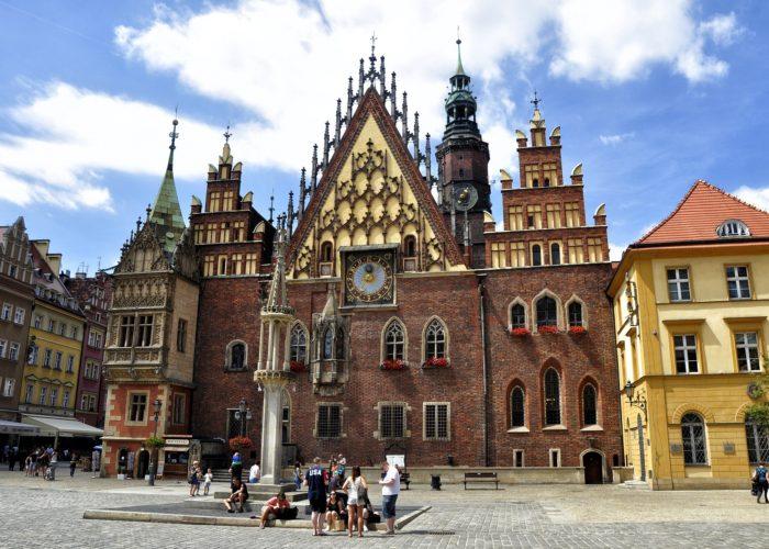 Altstadt von Wrocław - Breslau