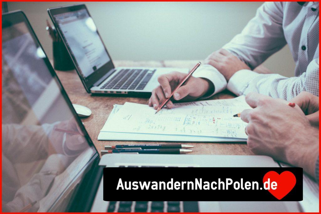 Firmengrundung in Polen